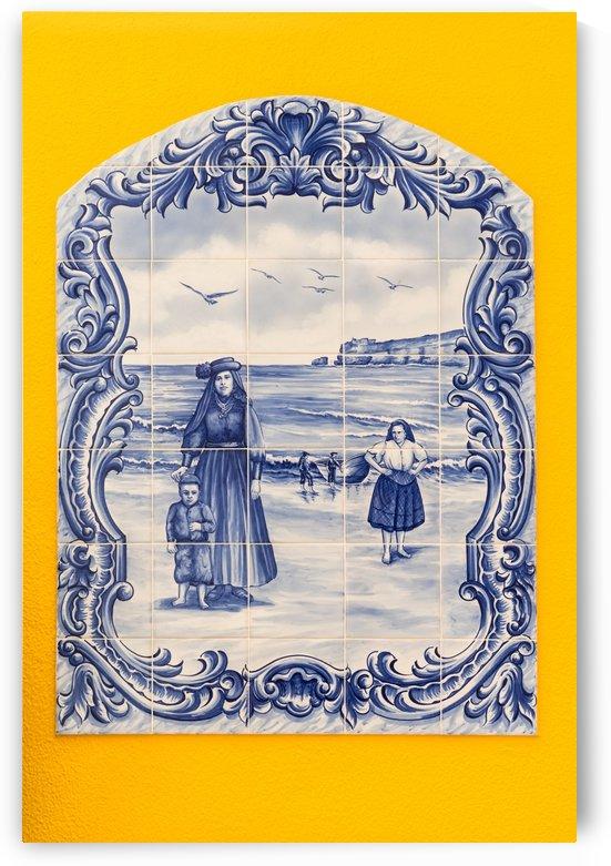 Portuguese Azulejo Portraits by GeorgiaM