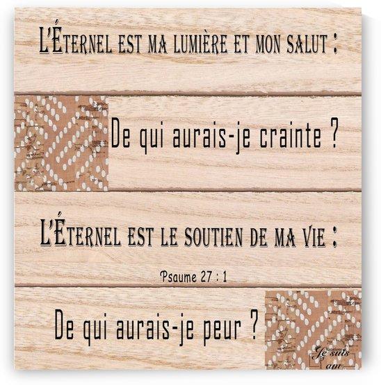 LEternel est ma lumiere by Rose Kélème