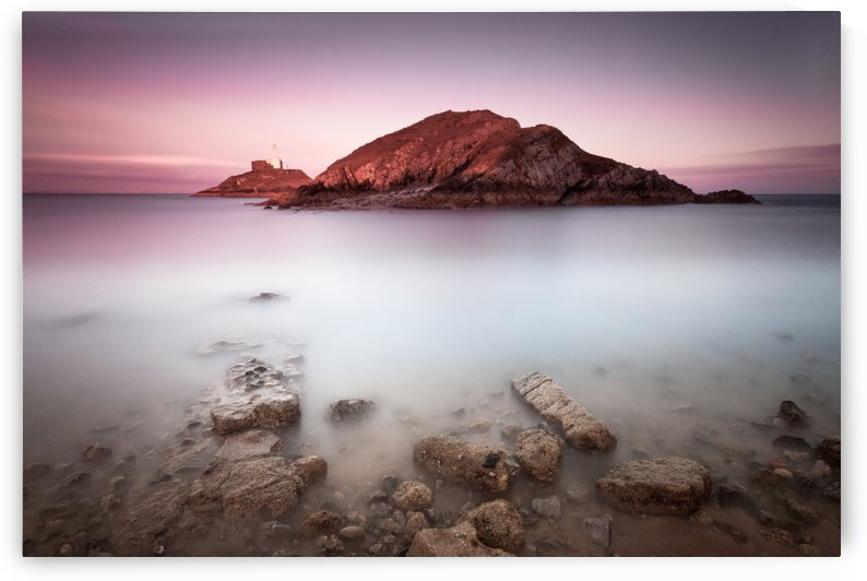 Mumbles lighthouse, Swansea by Leighton Collins