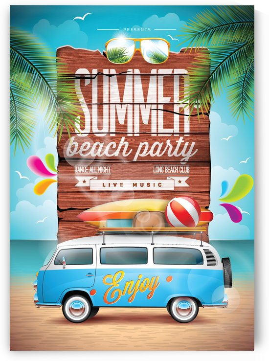 Summer Beach Party by vintagesupreme
