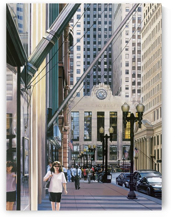 Chicago Board Of Trade by Michael Neamand