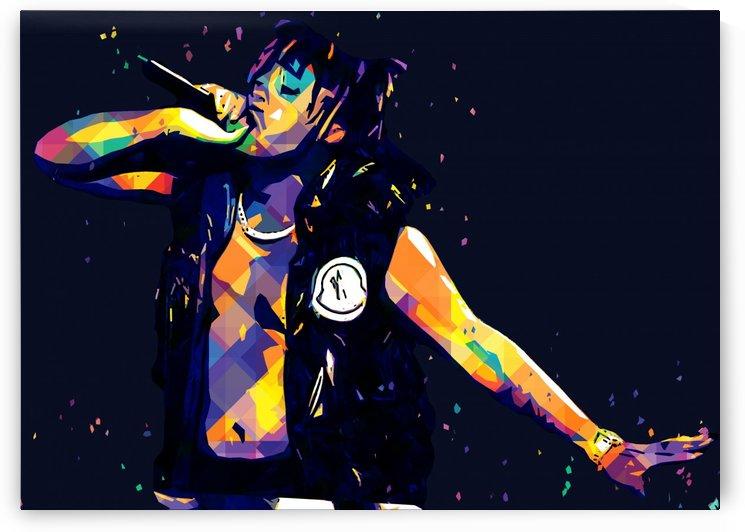 Juice Wrld Best American Rapper Art Style 11 by RANGGA OZI