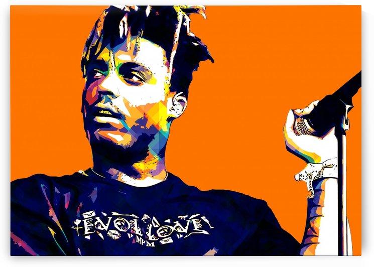 Juice Wrld Best American Rapper Art Style 10 by RANGGA OZI