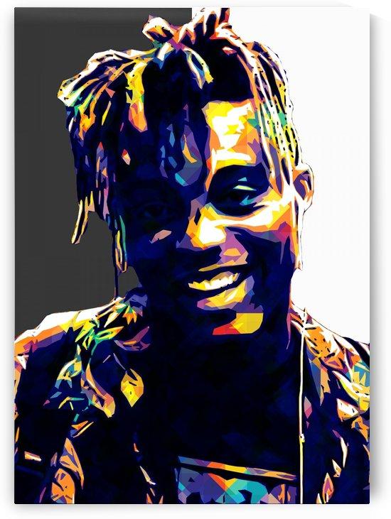 Juice Wrld Best American Rapper Art Style 3 by RANGGA OZI