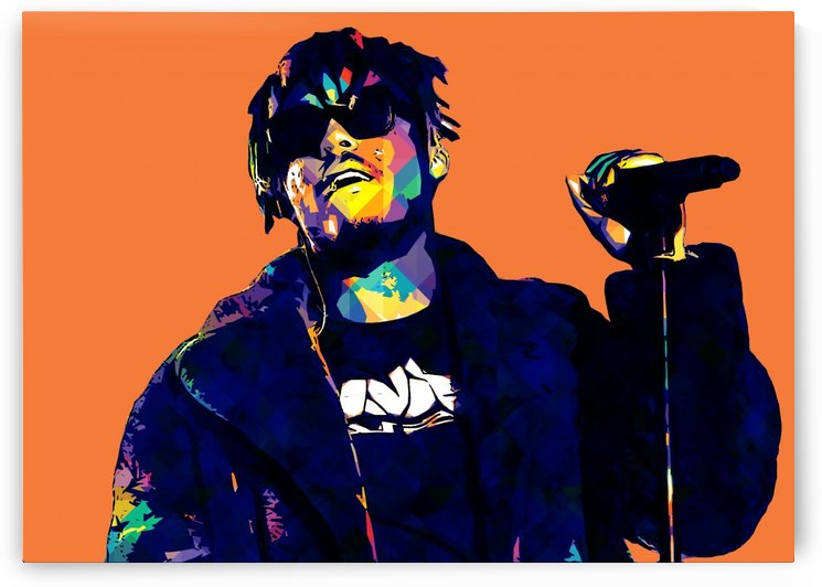 Juice Wrld Best American Rapper Art Style 1 by RANGGA OZI