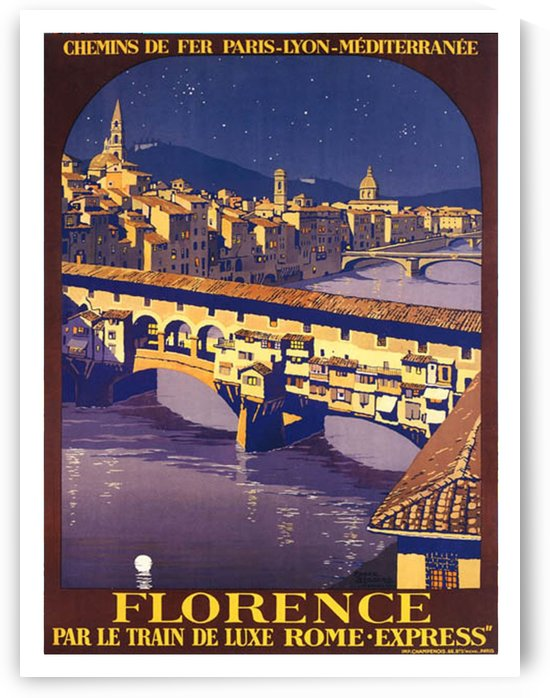 Night in Florence by vintagesupreme
