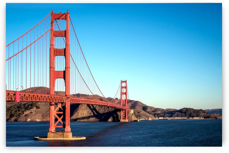 San Francisco Golden Gate Bridge by vintagesupreme