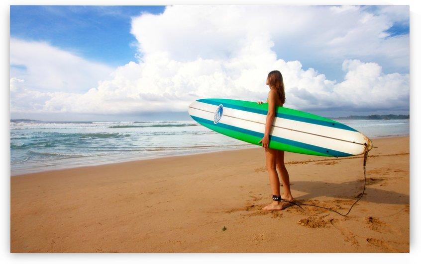 Morning Surfer by vintagesupreme