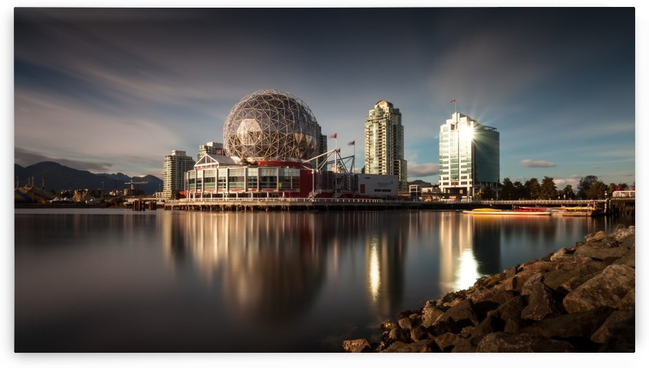 Science World, False Creek by Leighton Collins