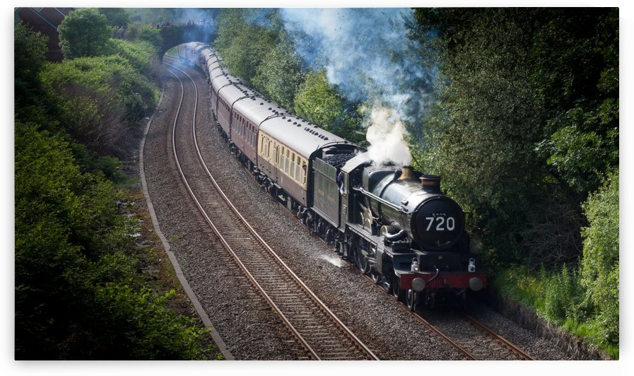 Nunney Castle locomotive by Leighton Collins