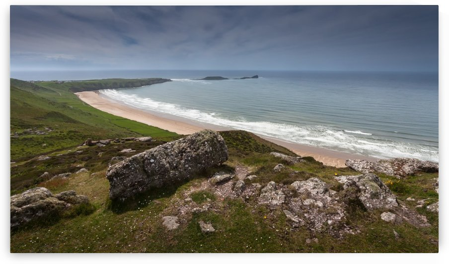Rhossili bay and worms head by Leighton Collins