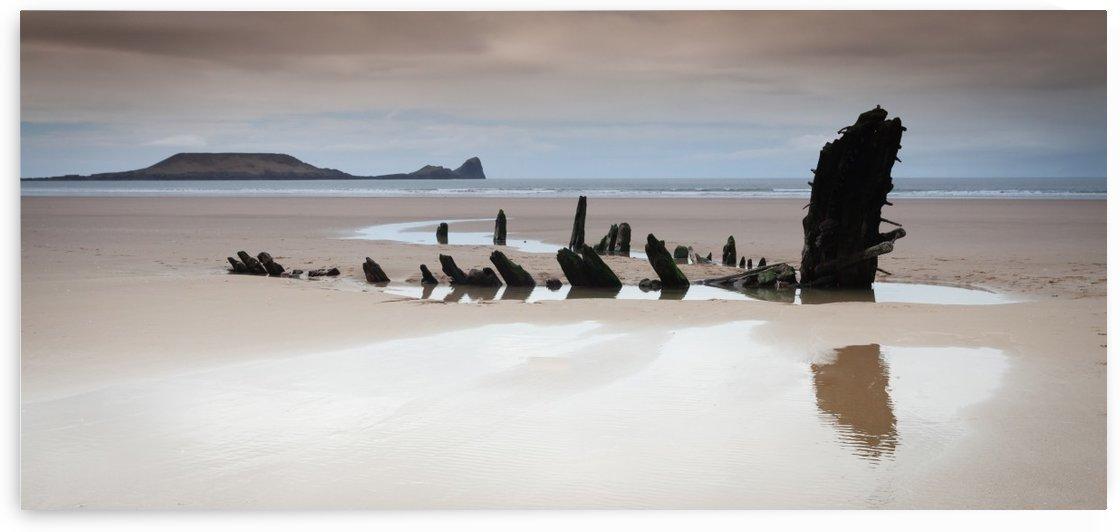 Helvetia wreck by Leighton Collins