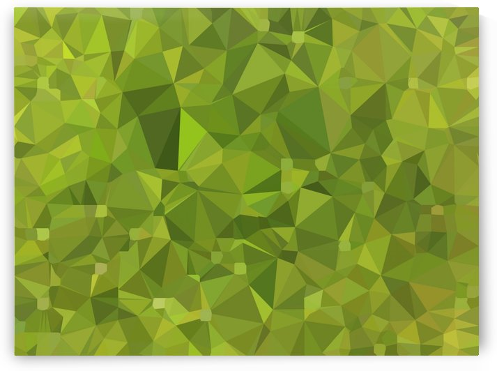 geometric triangle shape pattern abstract in green by TimmyLA