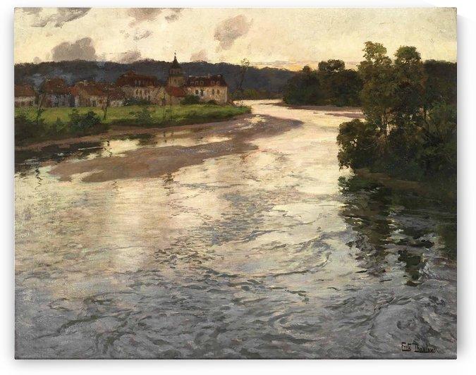 La Dordogne by Frits Thaulow