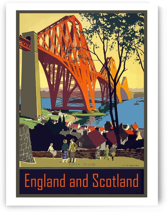 England and Scotland by vintagesupreme