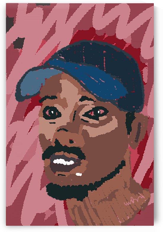 Young Black Man by W Scott