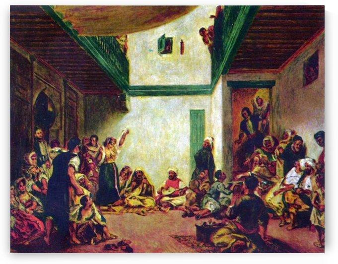 Jewish wedding (after Delacroix) by Renoir by Renoir