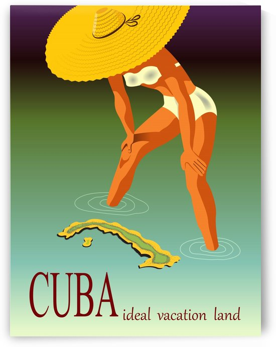 Big Girl over Cuba by vintagesupreme