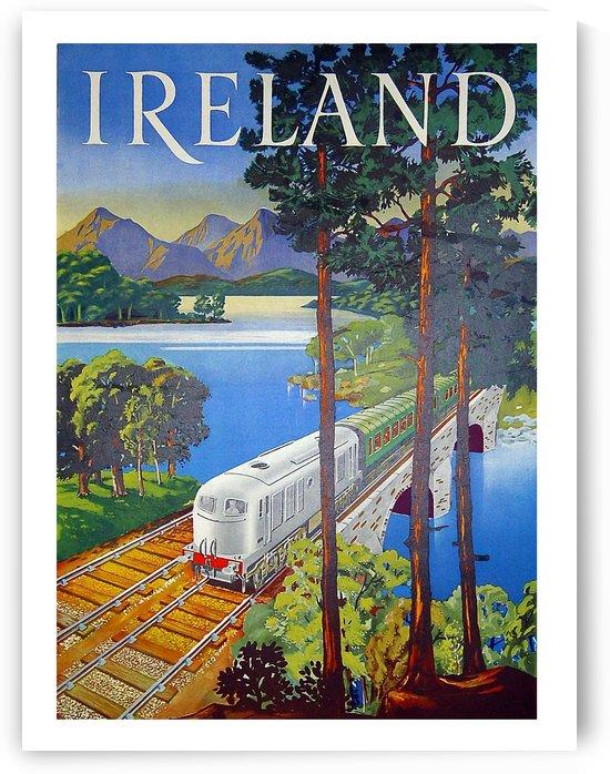 Railway in Ireland by vintagesupreme