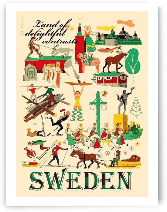 Sweden Collage by vintagesupreme