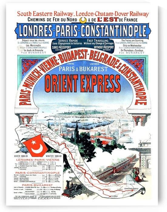 Orient Express by vintagesupreme