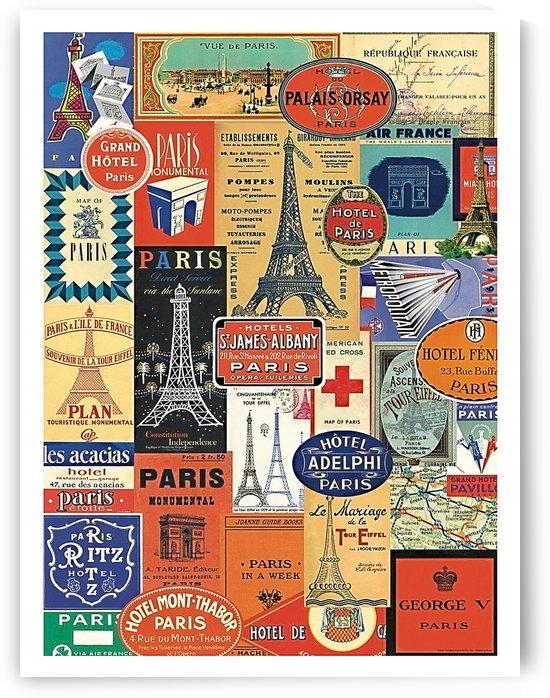 Paris Sticker Collection by vintagesupreme