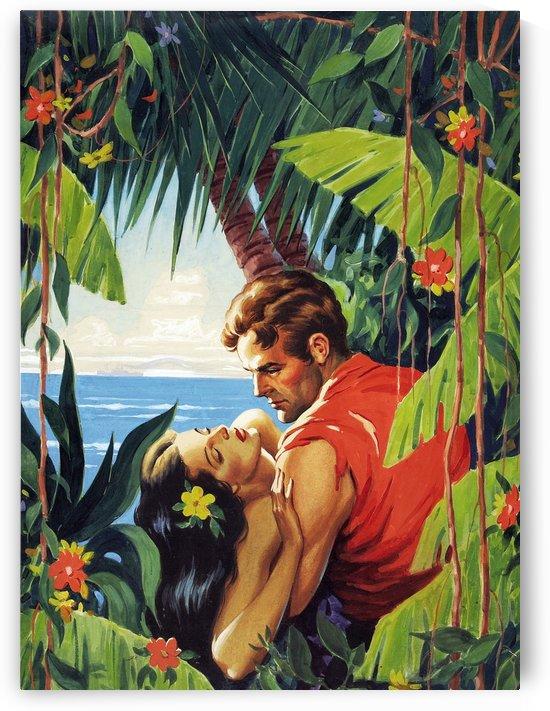 Romance on Tropic Isle by vintagesupreme