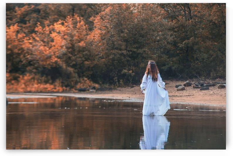La dame du lac 2 by Daniel Thibault artiste-photographe