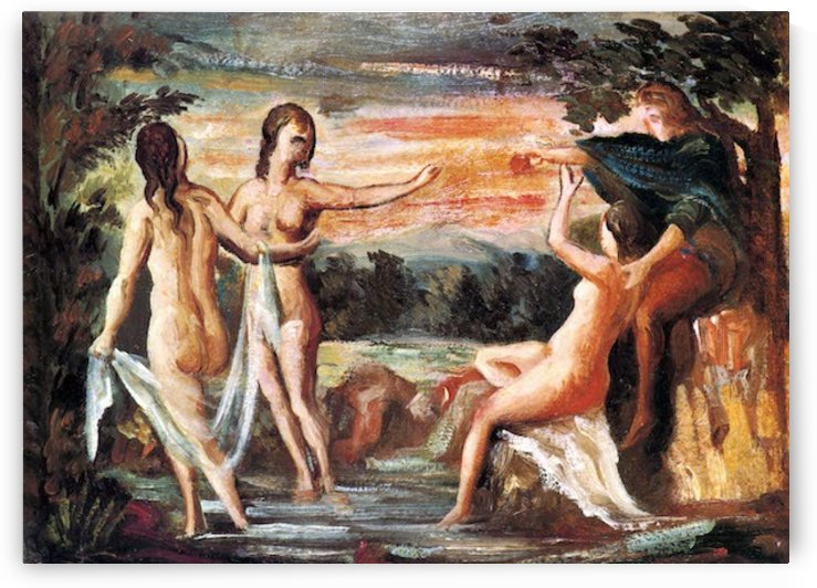 Judgement of Paris by Cezanne by Cezanne