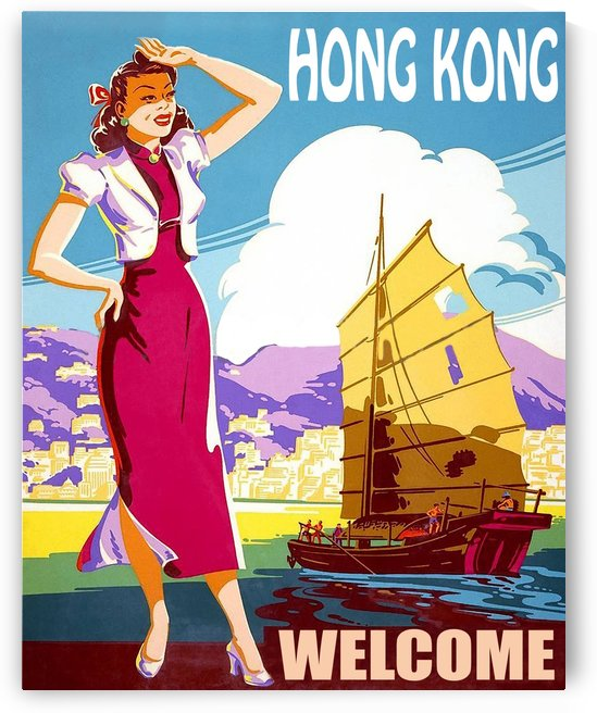 Hong Kong Welcome by vintagesupreme