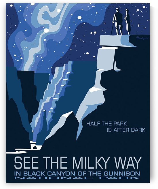See the Milky Way in Black Canyon by vintagesupreme
