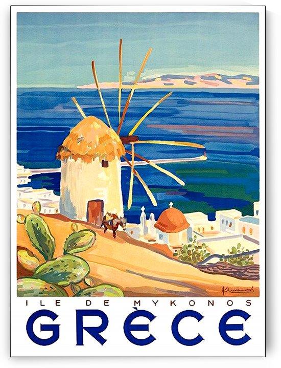 Windmill in Mykonos by vintagesupreme