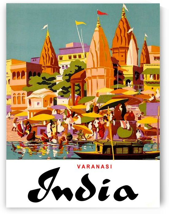 Varanasi City India by vintagesupreme