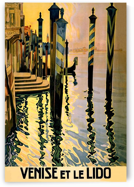 Venice City Dock by vintagesupreme