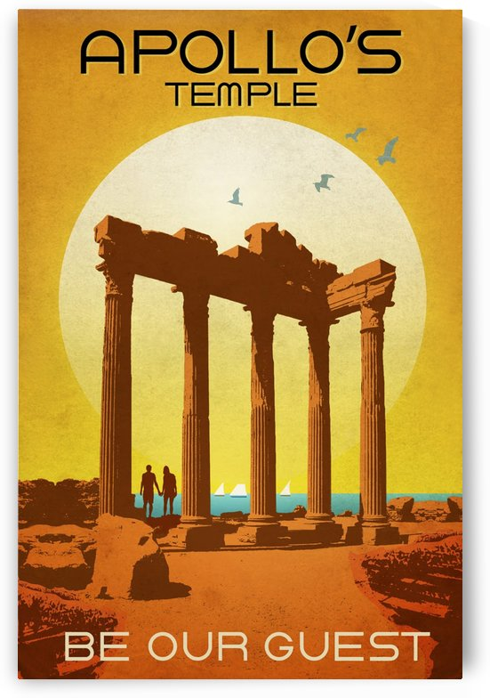 Apollo Temple by vintagesupreme