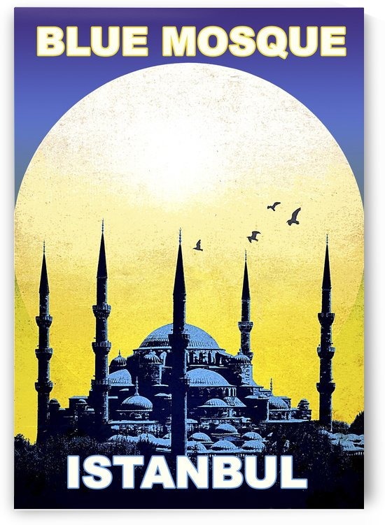 Blue Mosque by vintagesupreme