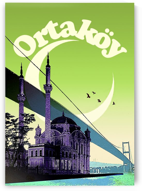Ortakoy Mosque by vintagesupreme