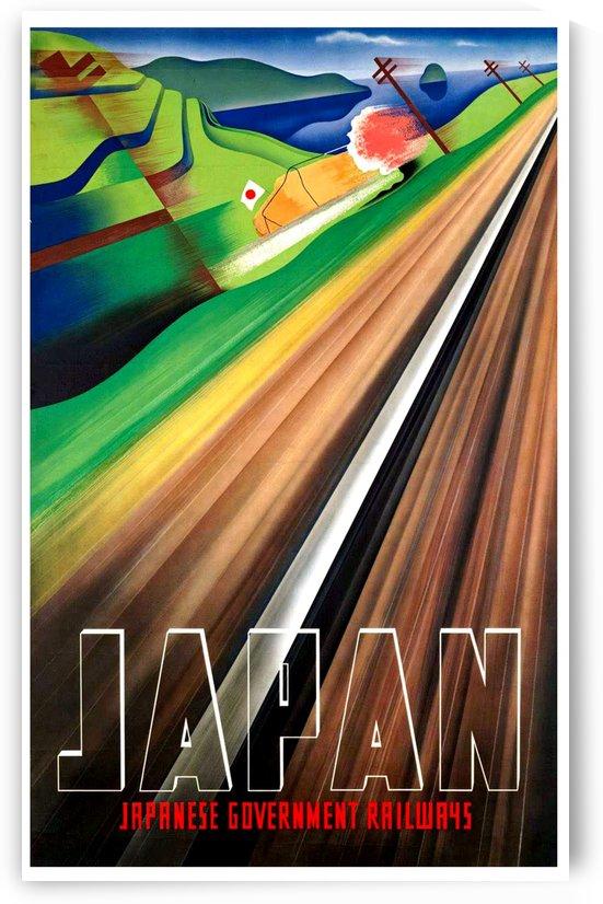 Fast Railway in Japan by vintagesupreme