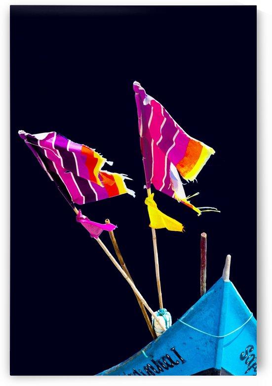 Boat - LXVII by Carlos Wood