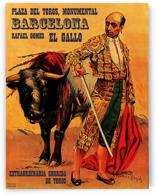 Barcelona Bullfight by vintagesupreme