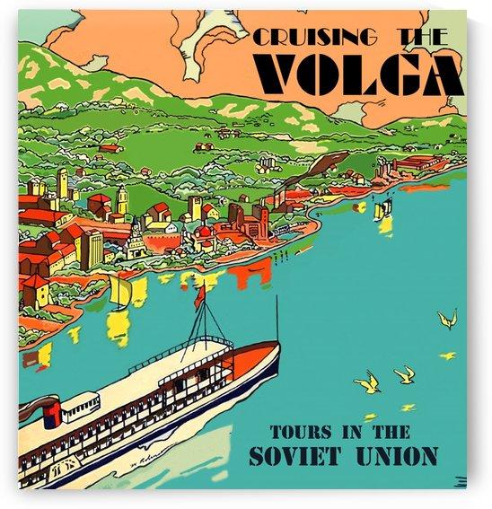 Cruising the Volga by vintagesupreme