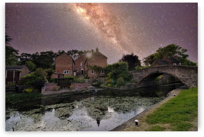 Canal night by Andy Jamieson