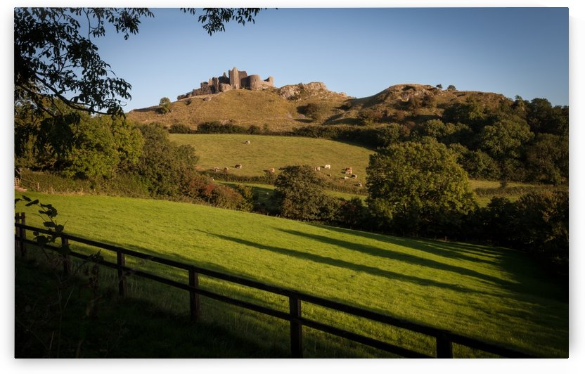 Carreg Cennen castle by Leighton Collins