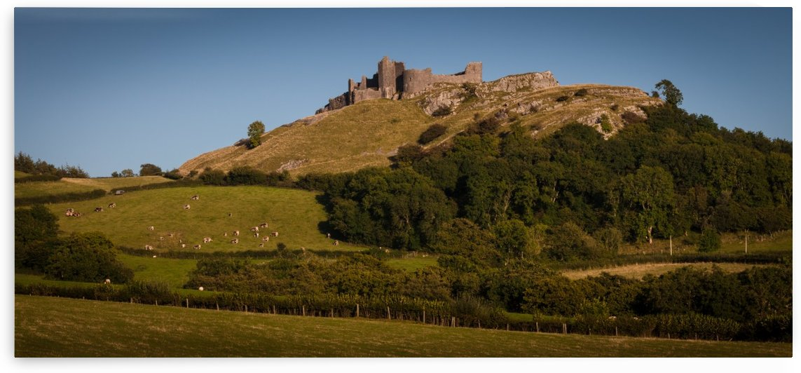 Carreg Cennen Castle near Trap by Leighton Collins