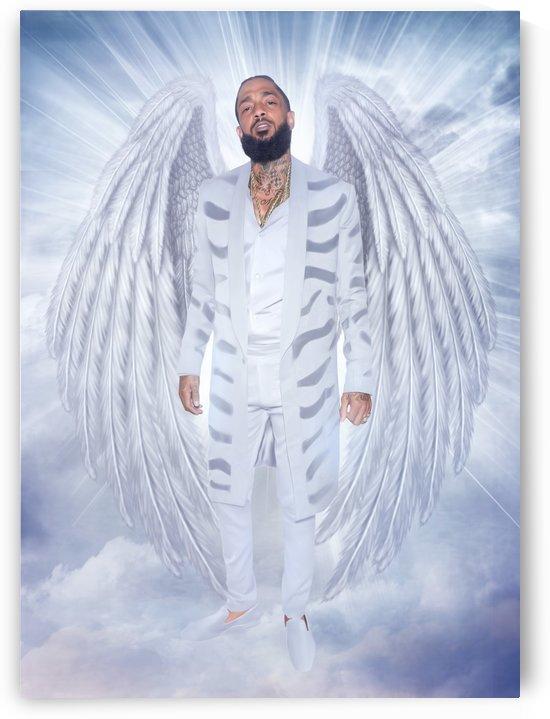 Nipsey Hussle angel  by lagaleriedelamour