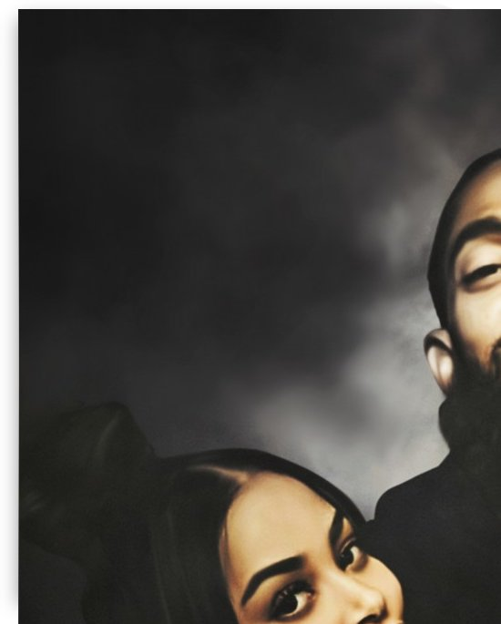 Nipsey Hussle and Lauren London by lagaleriedelamour