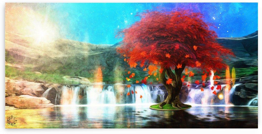 The Leaving Tree by ChrisHarrisArt