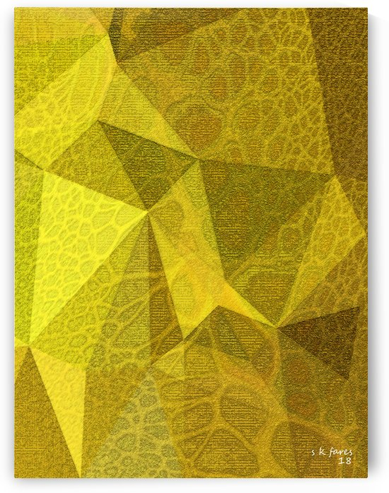abstract polygon10 by khalid selmane fares