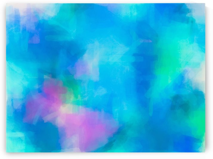 splash painting texture abstract background in blue and pink by TimmyLA