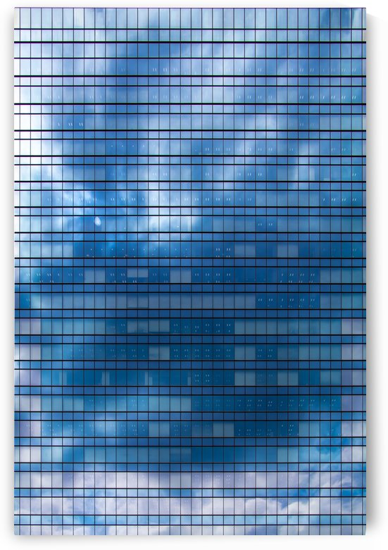 Glass Tower [dark blue] by Peter Jacoby